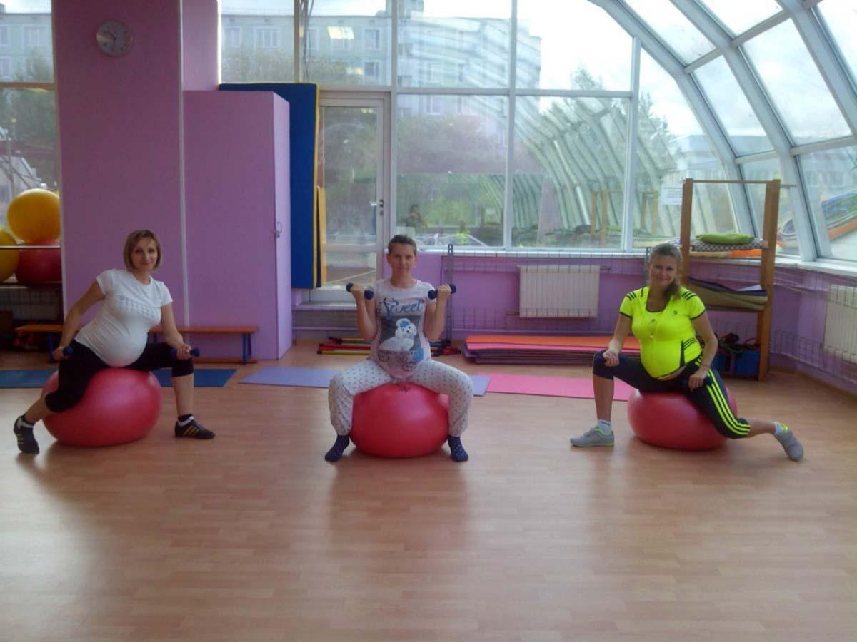 Фитнес для беременных в московском районе